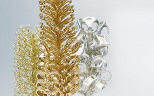 ریخته گری طلا قالب و شاخه موم