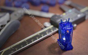قالب رزینی خارج شده از پرینتر های سه بعدی